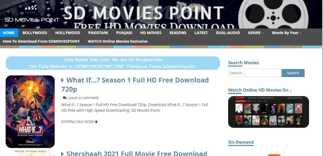 SD Movies Point Download HD Hollywood Bollywood Tollywood Movies &TV Shows